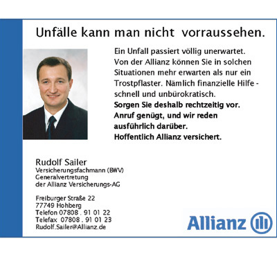 Generalvertretung der Allianz Versicherungs-AG