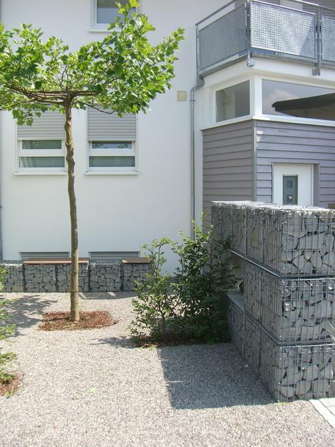 <strong>Gabionen</strong> &ndash; planwerk GEHLE Fernplaner Fernplanung Landschaftsarchitektur Thomas Gehle Christine Gehle