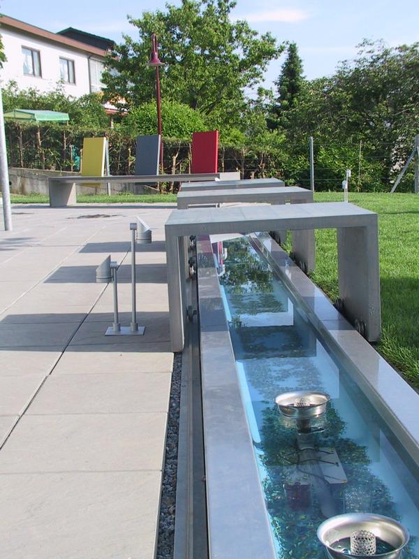 <strong>Wasserrinne</strong> &ndash; planwerk GEHLE Fernplaner Fernplanung Landschaftsarchitektur Thomas Gehle Christine Gehle