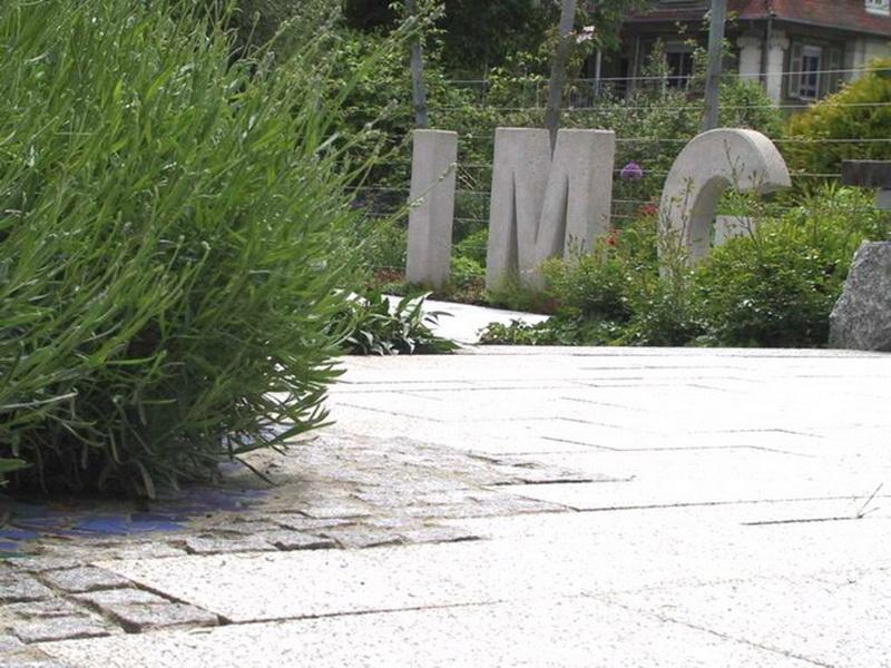 <strong>Betonbuchstaben</strong> &ndash; planwerk GEHLE Fernplaner Fernplanung Thomas Gehle Christine Gehle Landschaftsarchitektur