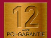 12 Jahre PCI-Garantie