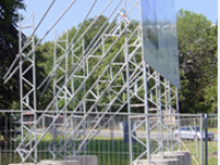 Unterkonstruktionen für Bautafeln
