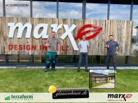 Glaswohnen erweitert den Aussenbereich von marx GmbH