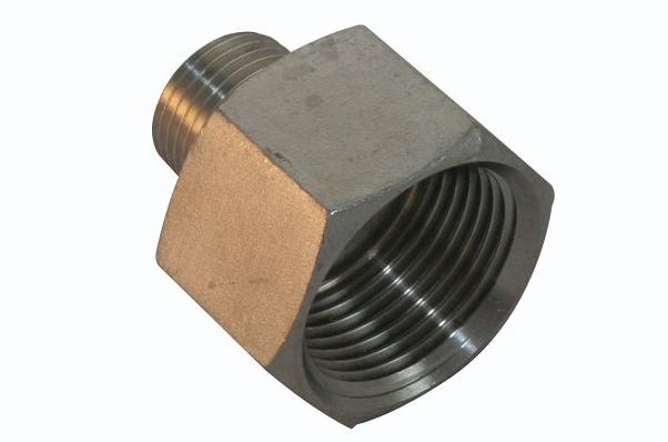 <strong>Art. Nr. 342</strong> &ndash; Muffennippel, ähnlich DIN 2990, DIN 2999, 150 lbs, V4A/316
