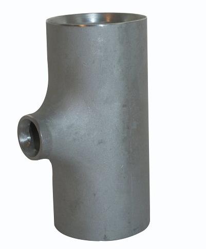 <strong>Art. Nr. 2615R</strong> &ndash; Reduziertes T-Stück nach DIN 2615, in geschweißter oder nahtloser Ausführung lieferbar.