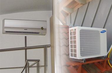 Klimatisierung in Wohnungsräumen