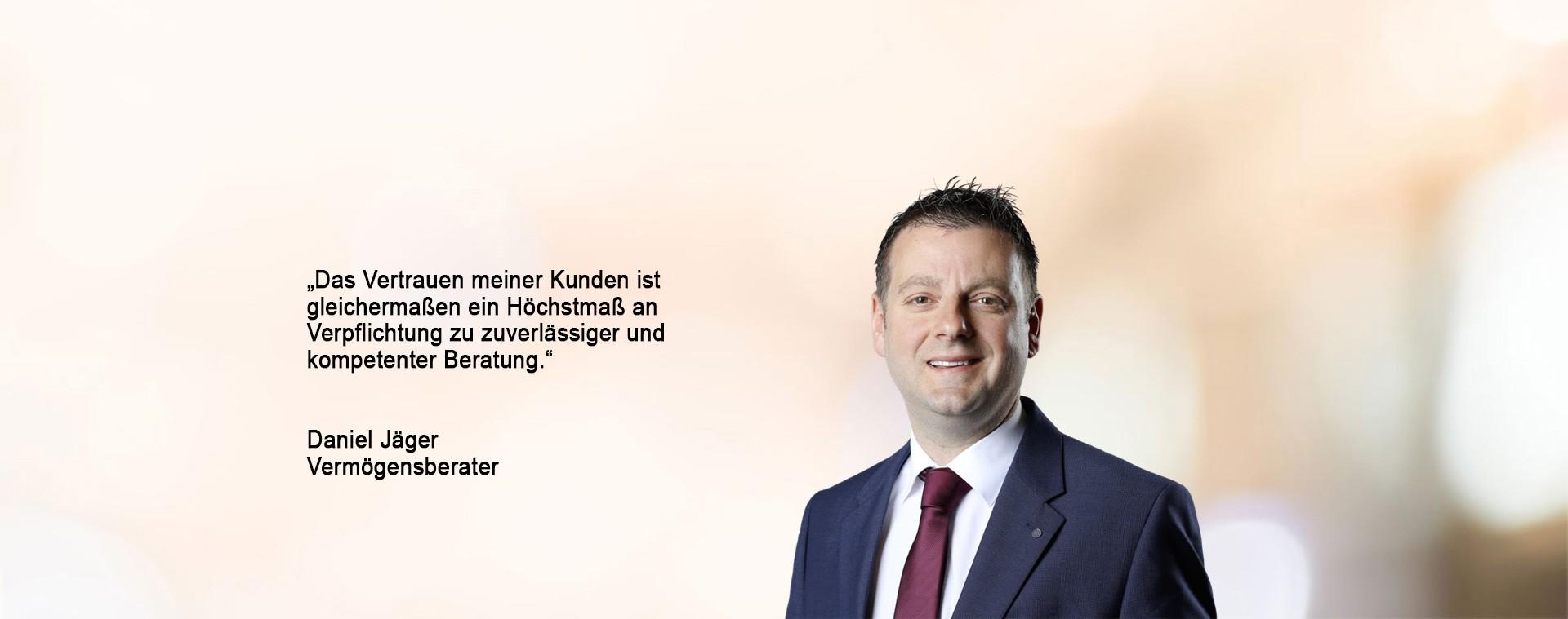 Daniel Jäger - Vermögensberater