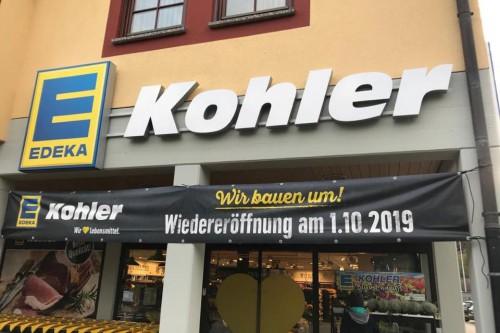Edeka Kohler eröffnet Filiale in Sulz