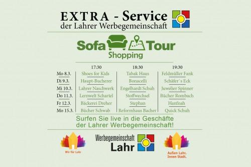 Sofa Shopping Tour in Lahr