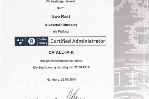 bintec elmeg Zertifikat