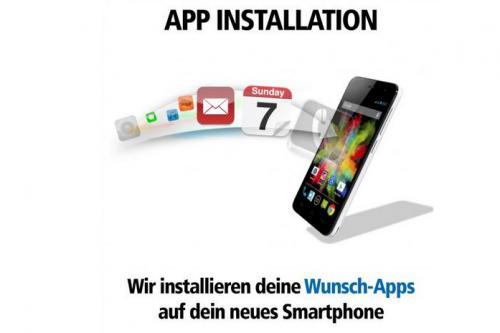 Wir laden Ihre Wunsch-Apps auf Ihr Handy!