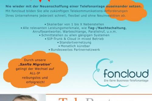 Foncloud ersetzt Telefonanlage mehr bei Telepartner Armbruster in Offenburg