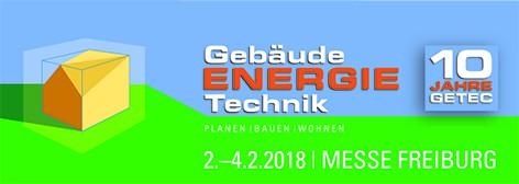 Gebäude Energie Technik Messe Freiburg