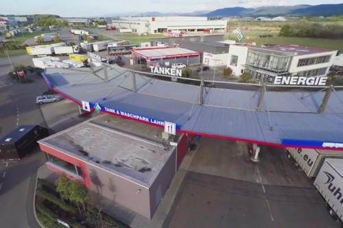 Neugestaltung unseres Tankstellendaches