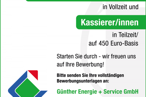 Stellenangebote bei Günther Energie + Service