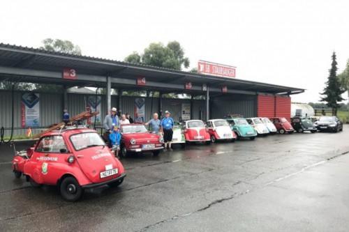 Isetta Club e.V. zu Gast bei Günther Energie + Service