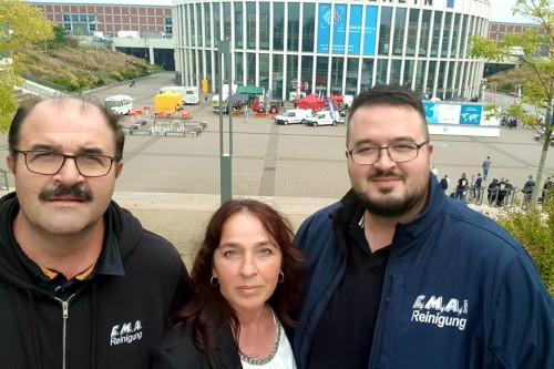 Team E.M.A. goes Berlin