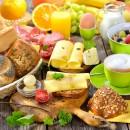 Frühstücksbuffet immer Montag bis Freitag, ausser Feiertags