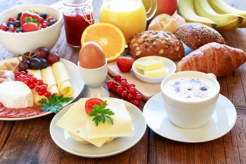 Frühstücken im Café Räpple