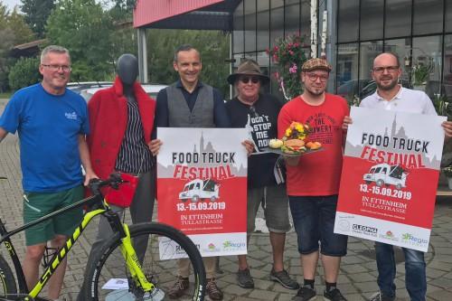 Pressekonferenz zum Food Truck Festival in Ettenheim