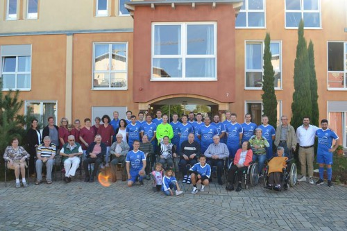 Pflege Centrum Kenk unterstüzt TUS Mahlberg.