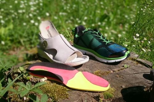 Schuhe für lose Einlagen