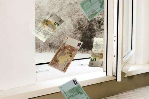 Dichte Fenster sparen bares Geld!