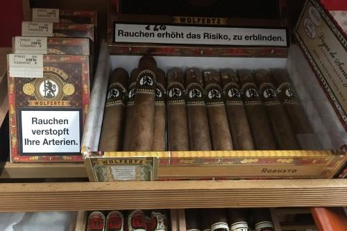 Zigarren; handgedrehte Zigarren; Longfiller