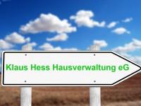 Klaus Hess Hausveraltung ändert seine Rechtsform zu einer Genossenschaft.