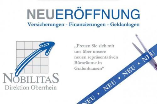 Rottenecker von Nobilitas eröffent ein neues Büro in Kappel-Grafenhausen