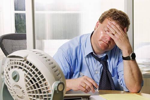 Covid 19 und Home Office Arbeiten bringt Sie ins Schwitzen?