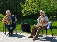 Musikalische Abwechslung für Heimbewohner in der Coronazeit
