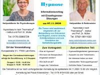 Tag der Hypnose  -  mit Schnupperhypnose am 07.11.2020 in Lahr/Schw.