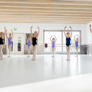 Kinder Yoga und Progressing Ballet Technique