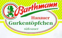 Barthmann - Gurken - Sauerkraut - Konserven