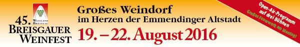 Weinfest Breisgau