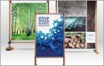 Displayständer aus Holz