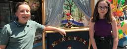 Werbegemeinschaft Lahr goes Youtube, dank Modertoren-Kids Gloria Hanus und Nevio Nicolosi.